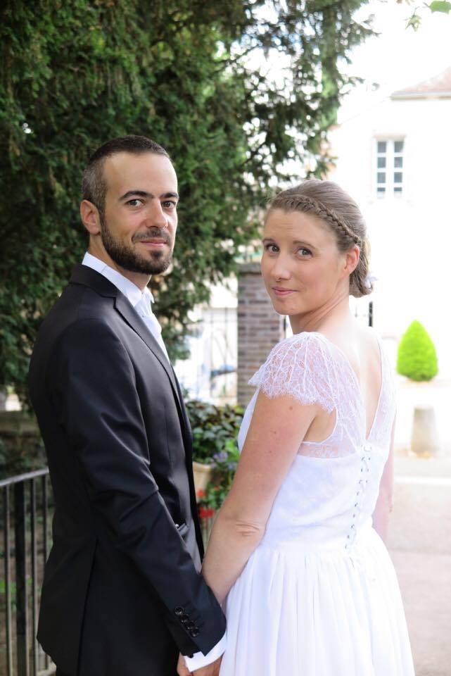 Robe de mariée dos - Accompagnement à la création - Claire Brandin